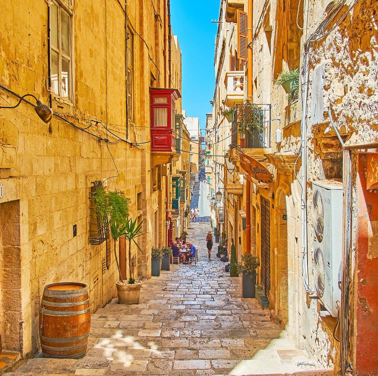 Strait Street Valletta